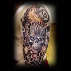 Japanese skull tattoos designs and ideas