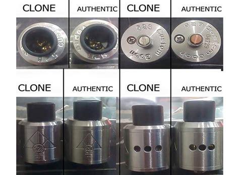 Authentic Goon 22 Rda Ss perbedaan rda goon authentic dan clone vapeku