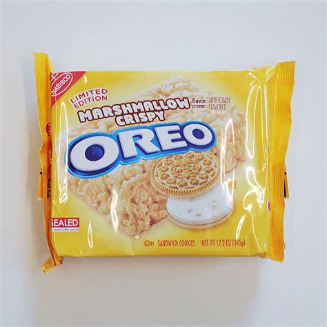 marshmallow crispy oreos review popsugar food