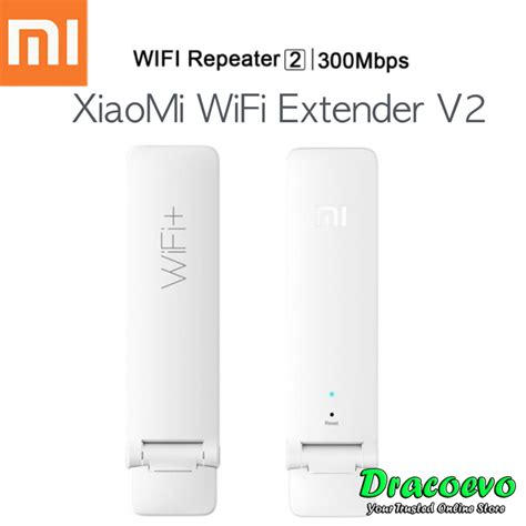 Xiaomi Wifi Range Extender Repeater Speed 300mbps Ver 2 authentic xiaomi mi wifi repeater 2 end 12 5 2019 8 35 pm