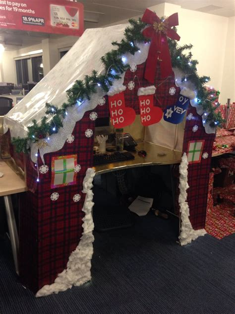 christmas desk ideas desk decorations santa s grotto christmakkah desk office