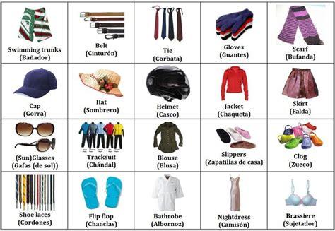 imagenes de ropa en ingles y español imagenes de ropa en ingles zapatos deportivos para damas