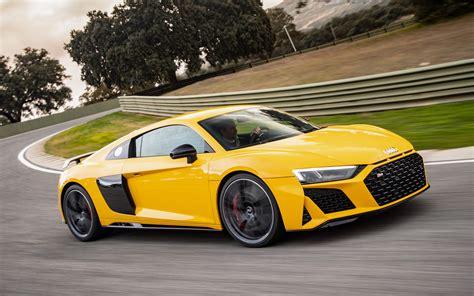 Audi R8 V10 2020 audi r8 v10 performance quattro 2020 la course dans le