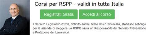 rspp interno o esterno responsabile servizio prevenzione e protezione rspp