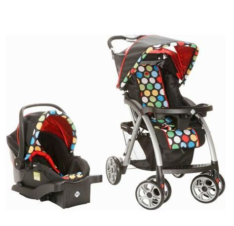 unisex car seats and strollers stroller car seat polka dots canopy stylish unisex baby