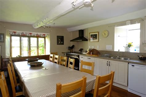 Country Farm House Plans kitchen diner middle coombe farm