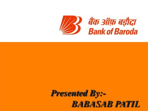 Bank Mba by Bank Of Baroda Ppt Bec Doms Bagalkot Mba