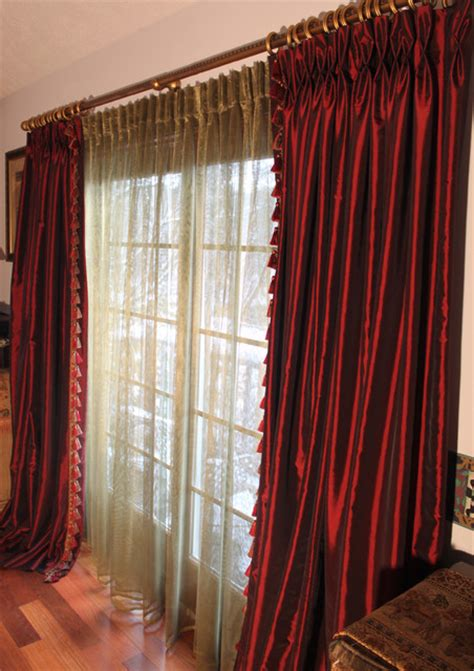 burgundy drapes burgundy taffeta drapes discontinued collection