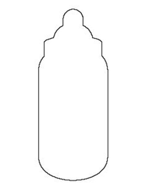 baby bottle template printable pictures to pin on