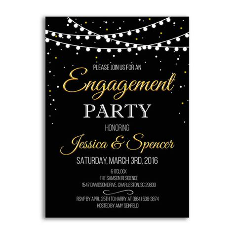 engagement invite template engagement invitation engagement ideas wedding