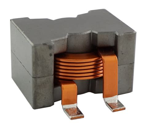 high current high inductance inductors hwia2918s series high current helical edge wound hew flat wire inductor on mps industries inc