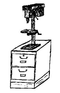 bench top drill press stand benchtop drill press stand plans