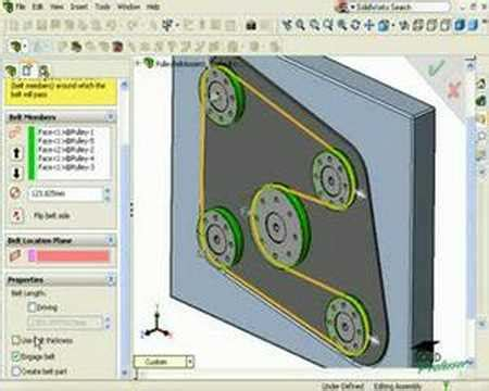 solidworks tutorials not loading solidworks tutorials by solidprofessor belts and chains