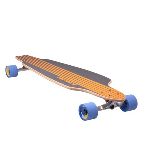 longboard lowered deck globe glb prowler longboard deck ahorn trucks slant board