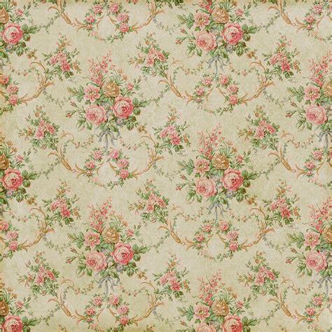 pattern paper vintage antique faded vintage wallpaper floral flower rose pink