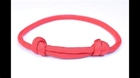 sliding knot friendship paracord bracelet bored paracord youtube
