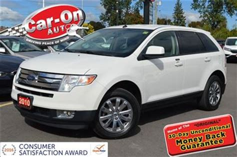 buy car manuals 2010 ford edge parking system 2010 ford edge sel awd loaded ottawa ontario used car for sale 2606989