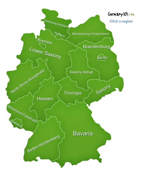 map fo germany map of germany germany