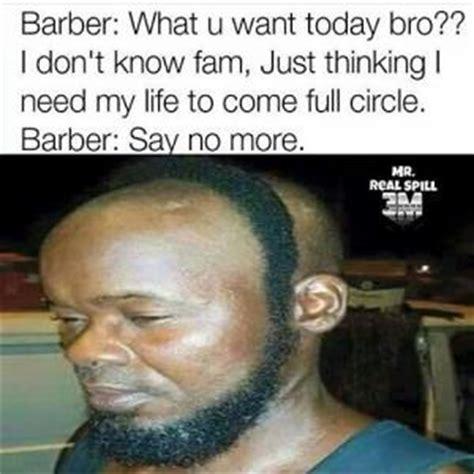 Fam Memes - barber jokes kappit