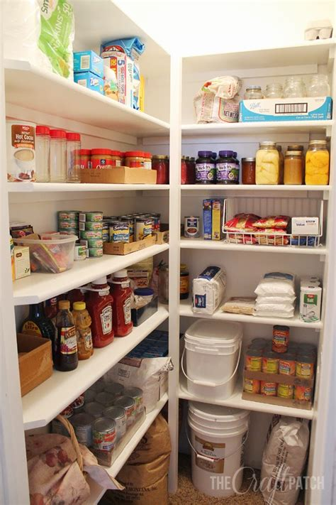 Creating A Pantry by The Craft Patch How To Build Pantry Shelves