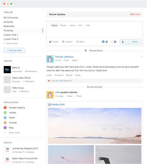 easysocial joomla social network extension stackideas