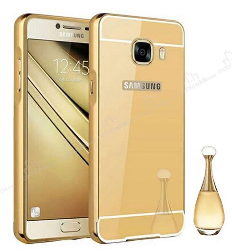 Mirror Samsung Galaxy G313 Gold eiroo mirror samsung galaxy c5 metal kenarlı aynalı gold