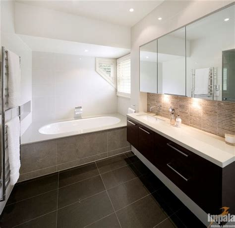 Modern Bathroom Feature Tiles Strips As Feature Tiles In
