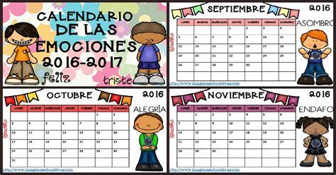 imagenes educativas calendario 2017 calendario 2017 para trabajar las emociones portada