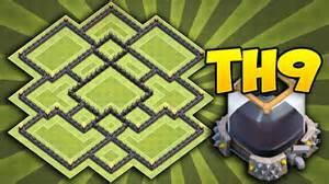 Clash of clans th9 dark elixir farming base defense best th9 dark