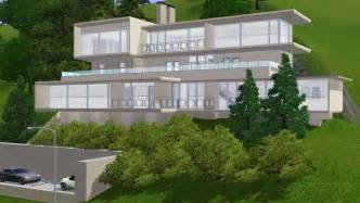 Modern Hillside House Plans by Small Modern Hillside House Plans With Attractive Design