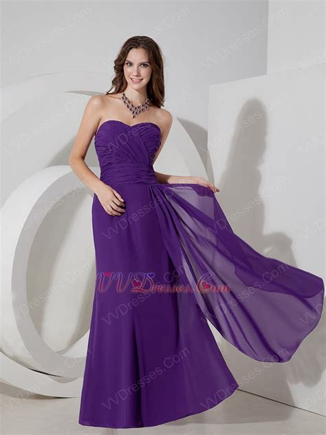 To Dress Violet column blue violet chiffon new styles prom dress cheap