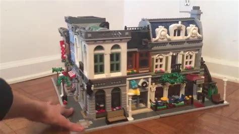 Banc Lego by Lego Modular Brick Bank Review Time Lapse