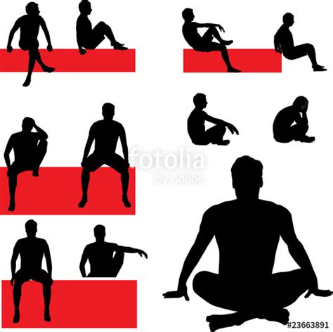 Free Floor Plan Online by Quot Man Sitting Vector Silhouettes Quot Stock Image And Royalty