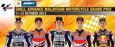 Motorrad Gp Startzeit by Motogp Malaysia 11 10 13 10 13 Startzeiten Und