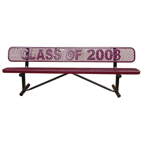 leisure craft benches commercial leisure craft personalized standard expanded
