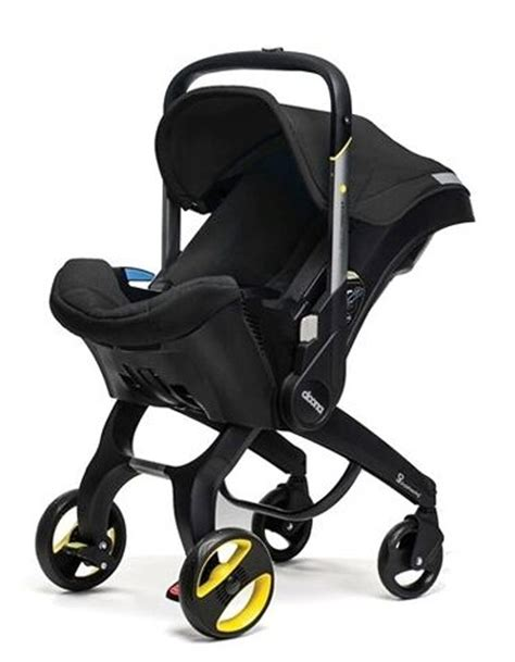and black infant car seat and stroller doona infant car seat stroller black