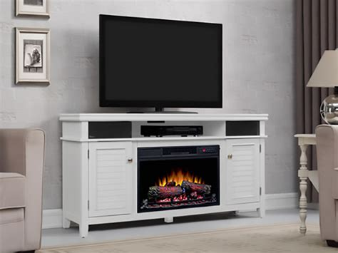 Electric Fireplace With Speakers by Simmons Media Mantel With Electric Fireplace And
