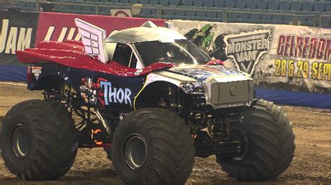 monster truck freestyle videos monster jam thor vs monster energy monster truck