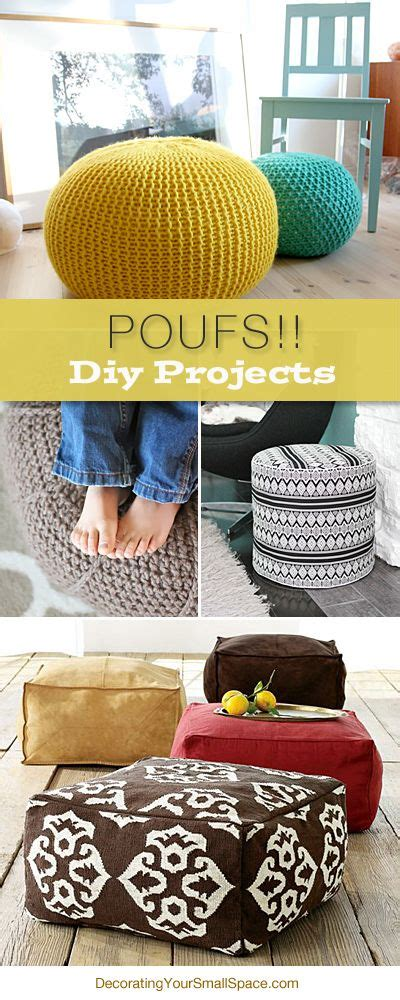 10 diy projects to try poufs new craft works