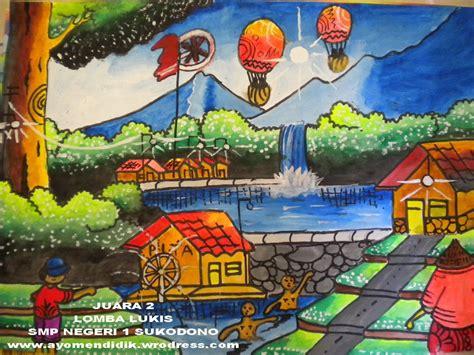 game membuat lukisan jawar lomba lukis smp negeri 1 sukodono ayo mendidik