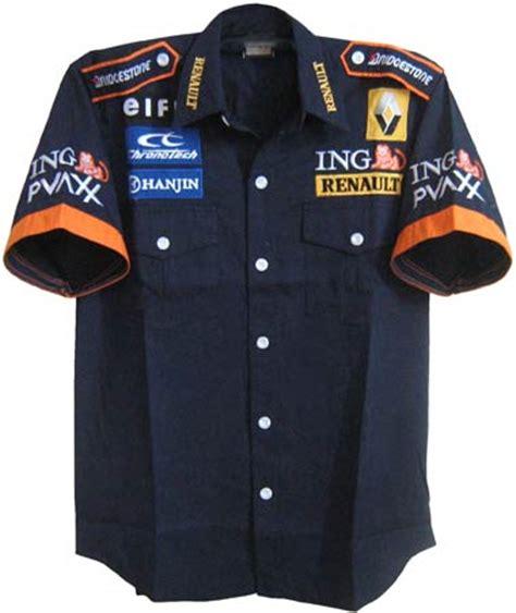 Renault F1 Clothing Renault Jackets Shirts Car Motorcycle Racing Team