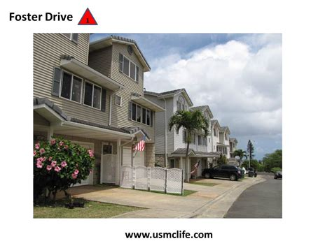 Hawaii Army Base Housing by Foster Drive Marine Base Hawaii Base Housing Usmc