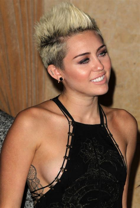 pixie mohawk 2014 the best miley cyrus pixie hair cuts hair world magazine