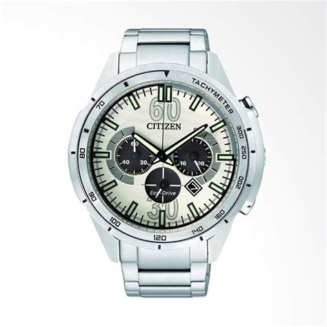Jam Tangan Pria Diesel Time Silver Angka White jual citizen eco drive chronograph stainless steel jam tangan pria silver white ca4120