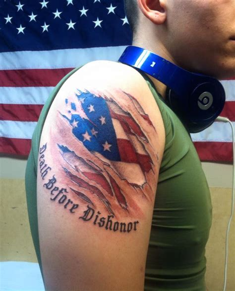 american flag ripping through skin tattoo 53 coolest must designs for patriotic 4th july tattoos