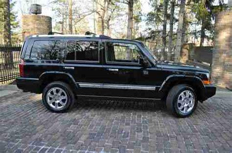 2008 Jeep Commander Overland For Sale Purchase Used 2008 Commander Overland No Reserve 5 7 Hemi
