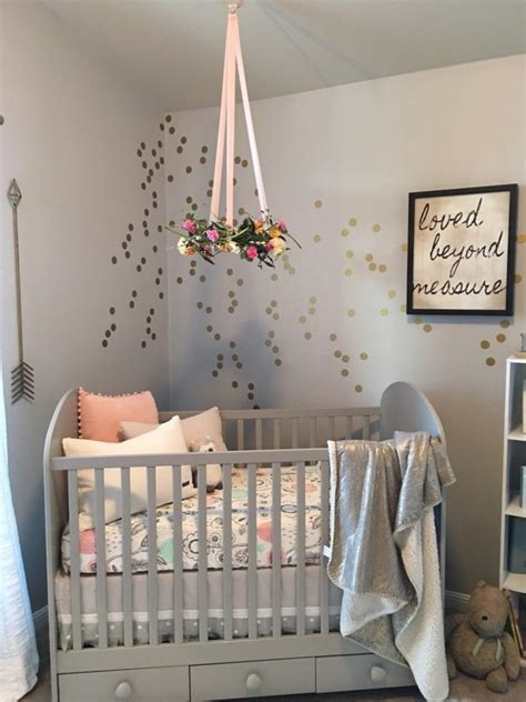 Baby Crib Decorations A Serene And Calming Nursery For Selah Grace Project Nursery
