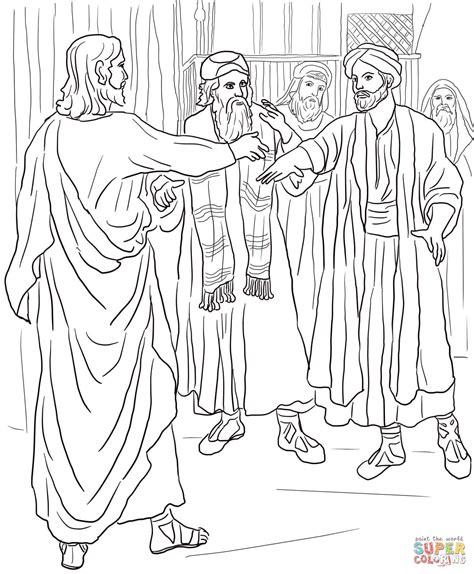 zacchaeus coloring page printable coloring home jesus and zacchaeus coloring page coloring home