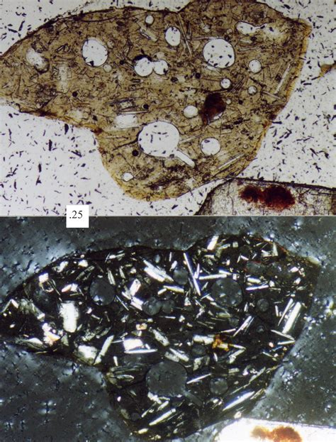 volcanic glass in thin section petrographic microscope wikipedia