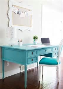 blue chalk paint desk i nap time
